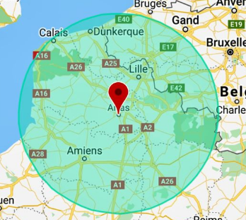 Reconfinement en régions: comment calculer 10 kilomètres autour de chez moi?